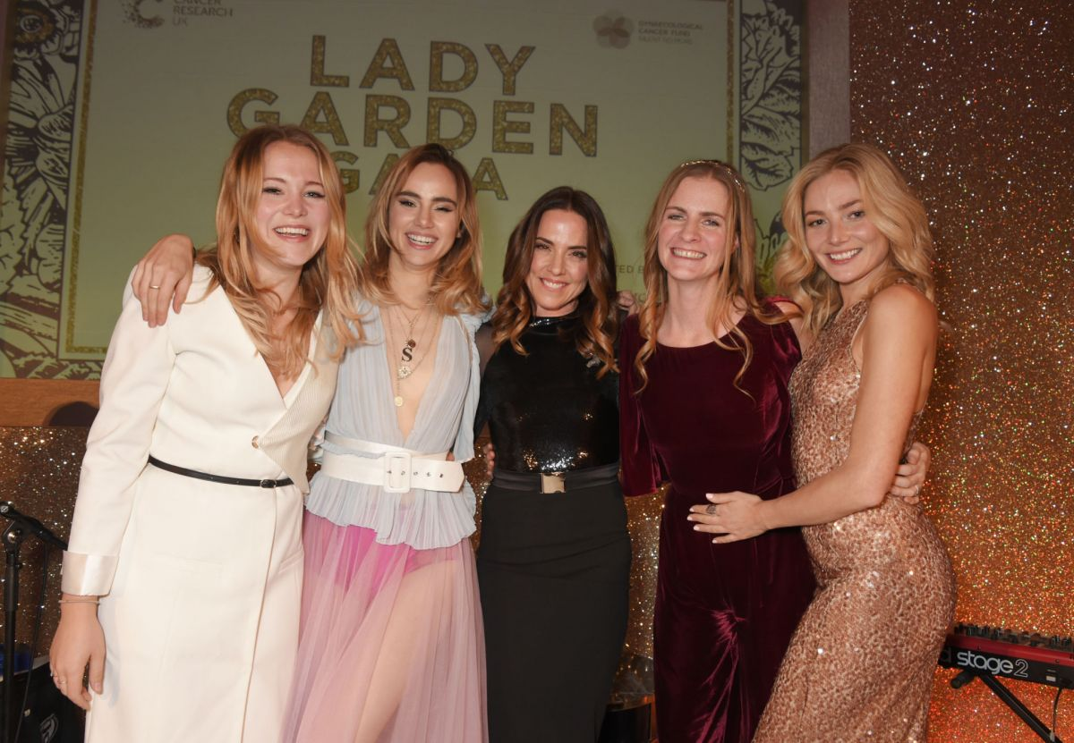 Clara Paget At Lady Garden Gala in aid of Silent No More ...