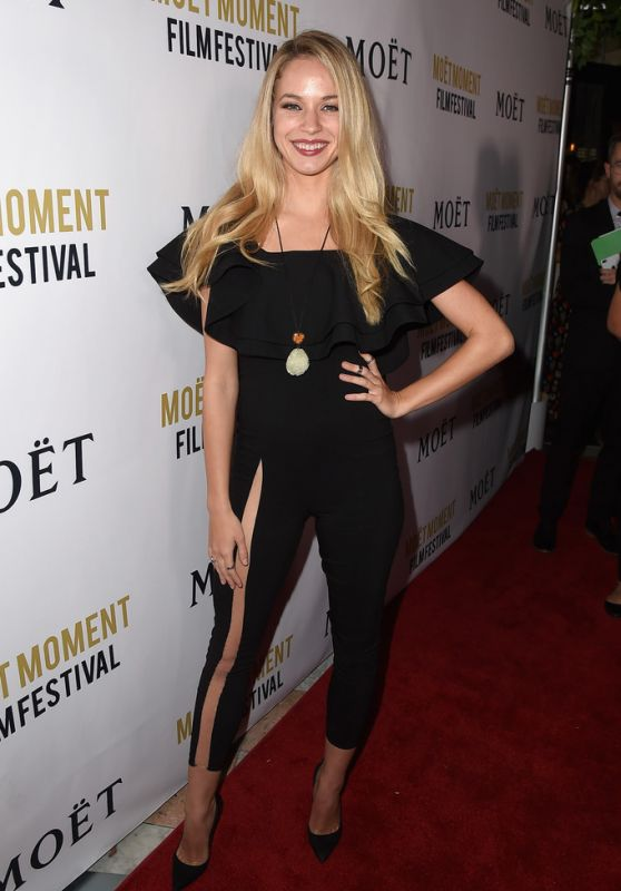 63abaf10fa Alexis Knapp At 3rd Annual Moet Moment Film Festival in Los Angeles