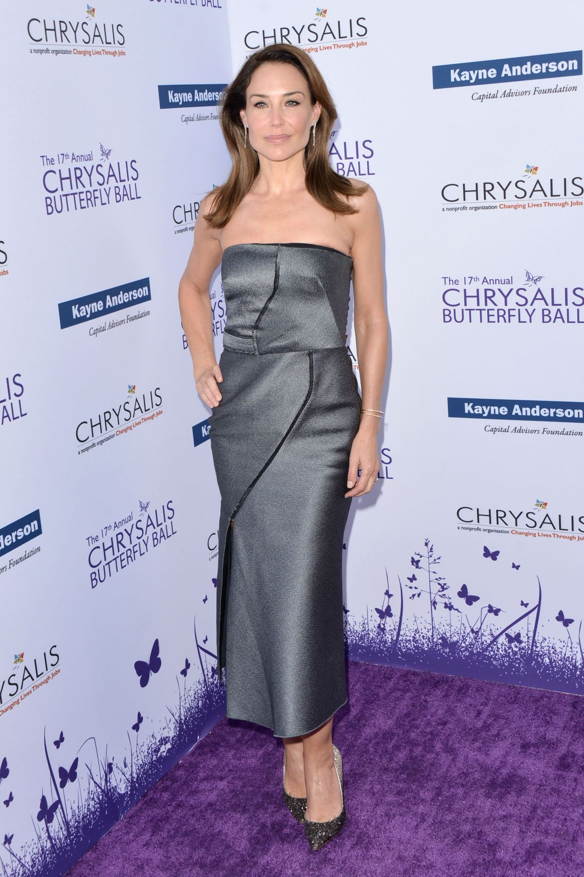 Claire Forlani At 17th Annual Chrysalis Butterfly Ball, Los Angeles -  Celebzz - Celebzz