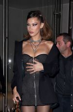 """Bella Hadid Arriving at the """"Chrome Hearts"""" event in Paris"""