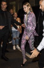 Gigi Hadid Leaving Versace after-party in Milan, Italy