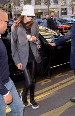 Kaia Gerber Arriving at her hotel in Paris, France