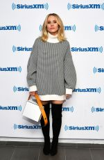 Kristen Bell Visits SiriusXM in New York