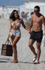 Olivia Culpo and NFL player Danny Amendola Back together as they hold hands on the beach in Miami