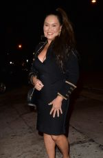 Tia Carrere At night out in West Hollywood
