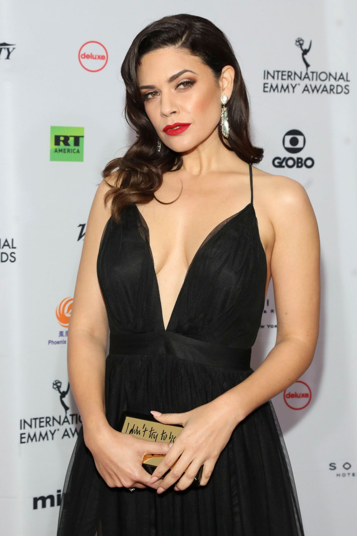 Angelica Celaya En Bikini angelica celaya at 46th international emmy awards gala, new