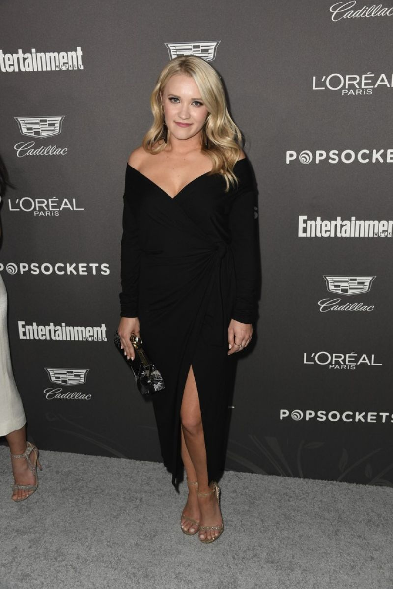 Permalink to Emily Osment At Entertainment Weekly Pre Sag Party In Los Angeles