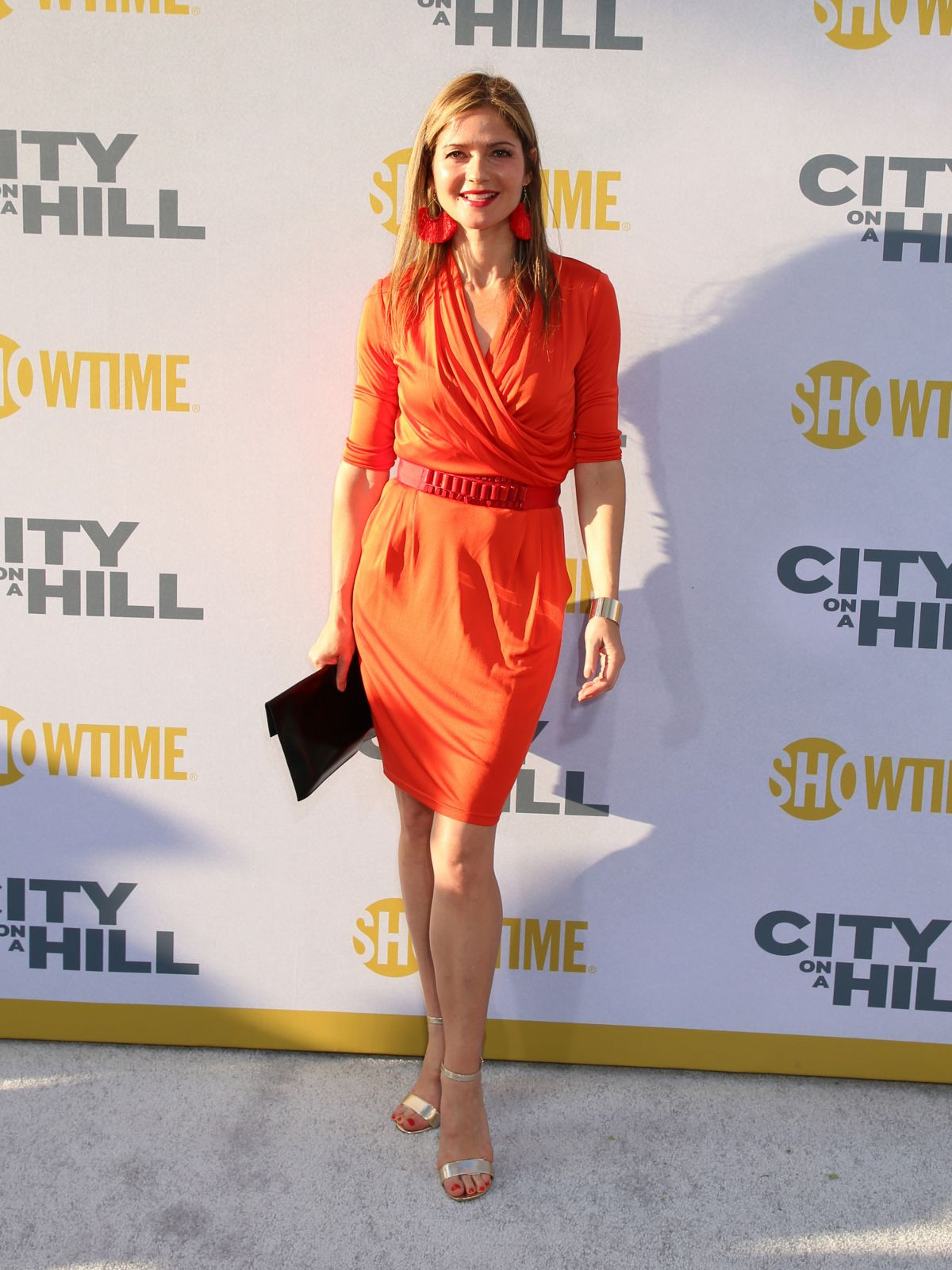 Angelique Hennessy jill hennessy at 'city on a hill' tv show premiere, new york