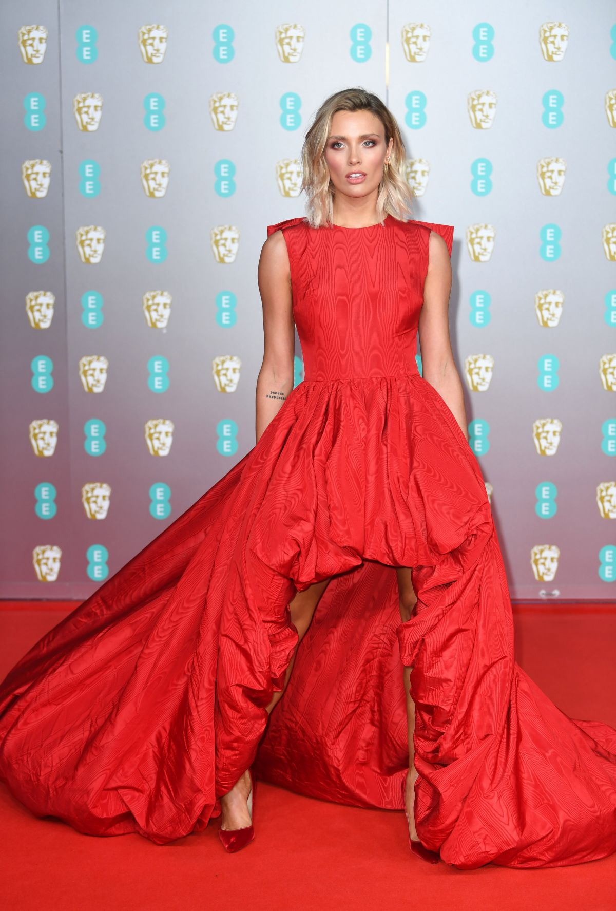 Wallis Day At Ee British Academy Film Awards 2020 In London Superstars News